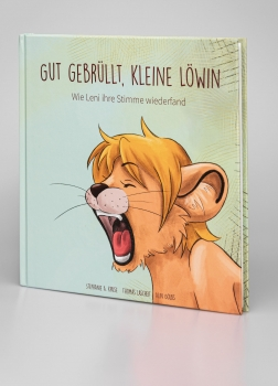 'Well roared, little Lioness' – the first LAX VOX® picture book. (German)