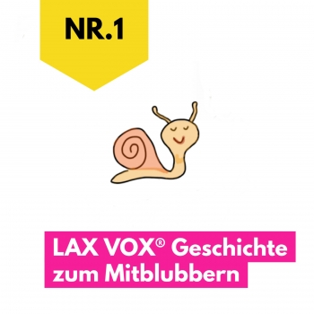 The snail and the ant: LAX VOX® story to bubble along to (German)