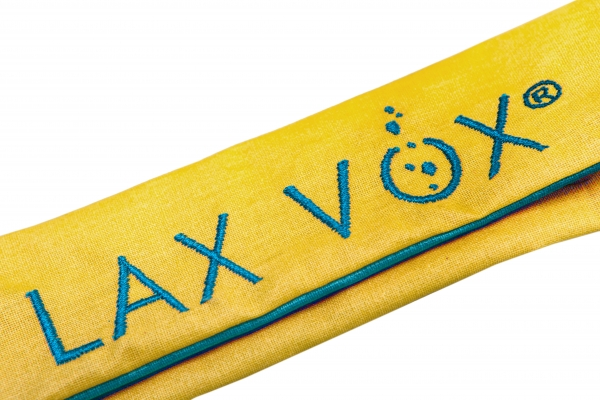 SALE: LAX VOX®-bag yellow/blue (old logo)